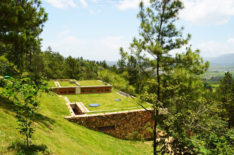 extraordinary RD House in Dominican Republic Featuring a Sustainable Green Roof
