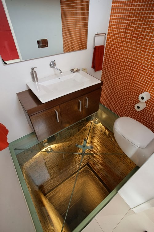 cool bathrooms with Glass-Floor-Ideas-For-High-End-Ultra-Modern-Homes