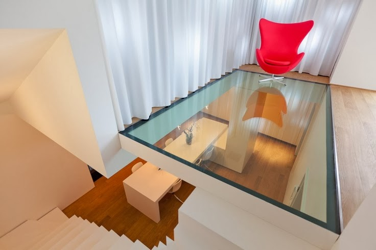 cool small lobby area Glass-Floor-Ideas-For-High-End-Ultra-Modern-Homes