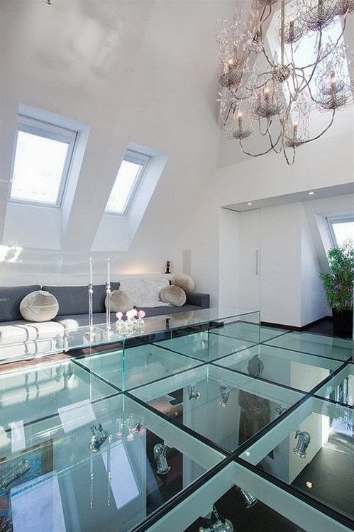 apartment in brasov romania with 17 Glass Floor Ideas For High End Ultra Modern Homes homesthetics (8)
