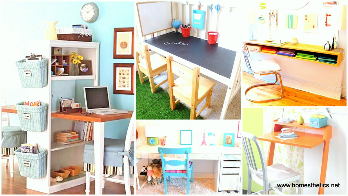 18 DIY Desks Ideas That Will Enhance Your Home fice1