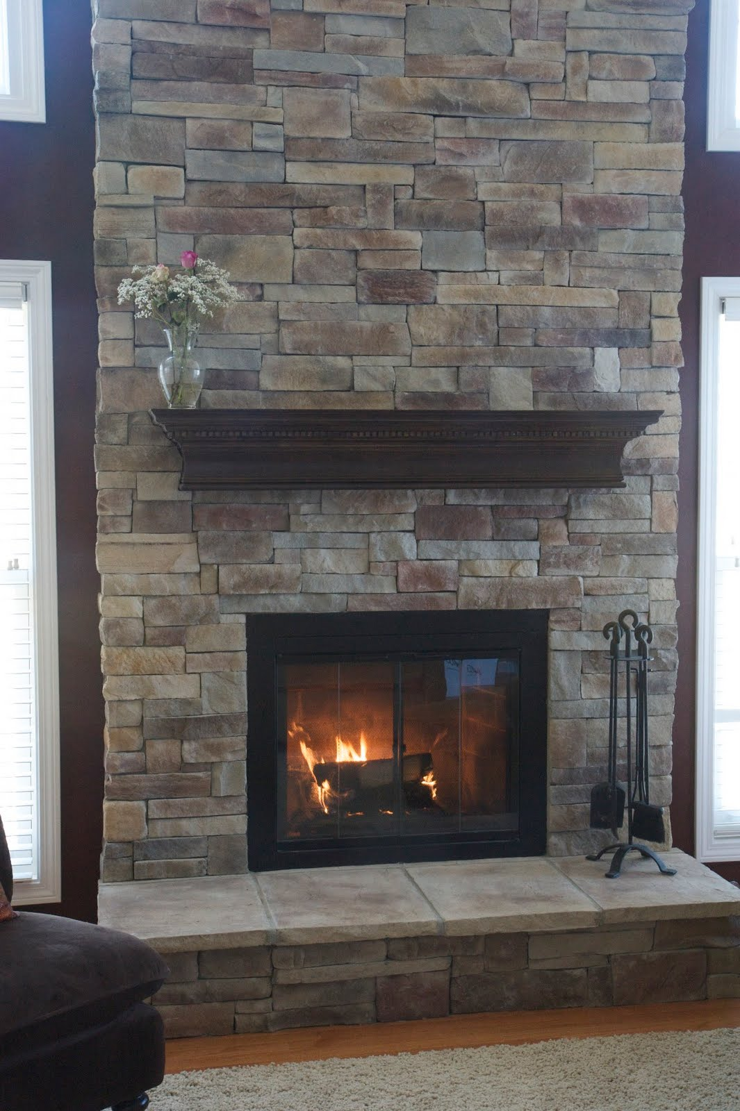 Stone Fireplace Ideas Part - 34: 25 Stone Fireplace Designs To Warm Your Home