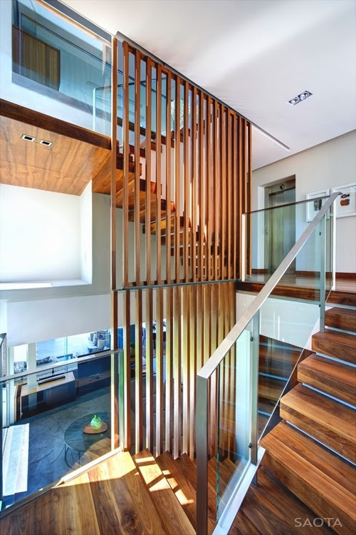 ... Different Wooden Types Of Stairs For Modern Homes