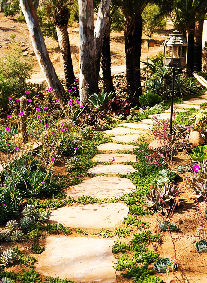 small path CreativeInspiring-Ideas-of-How-to-Make-Your-Garden-a-Green-Paradise