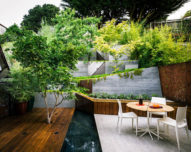 luxurious Backyard-Landscaping-Ideas-Hilgard-Garden-by-Mary-Barensfeld-Architecture