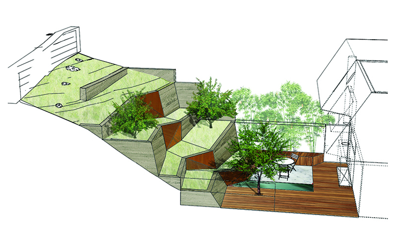 preliminary sketch Backyard-Landscaping-Ideas-Hilgard-Garden-by-Mary-Barensfeld-Architecture