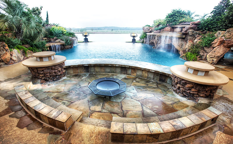 one of a kind view Backyard-Landscaping-Paradise-30-Spectacular-Natural-Pools-