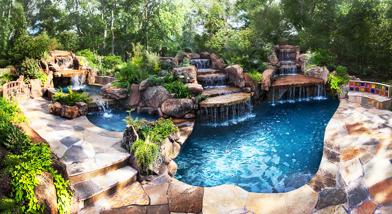 unique Backyard-Landscaping-Paradise-30-Spectacular-Natural-Pools-