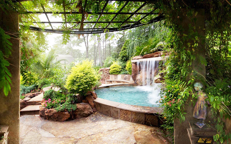 Backyard Landscaping Paradise 30 Spectacular Natural