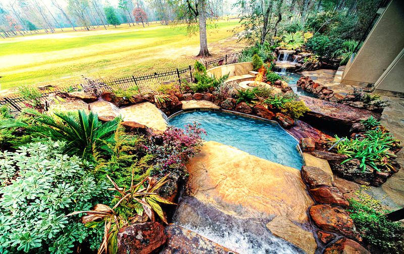 perfect setup Backyard-Landscaping-Paradise-30-Spectacular-Natural-Pools-
