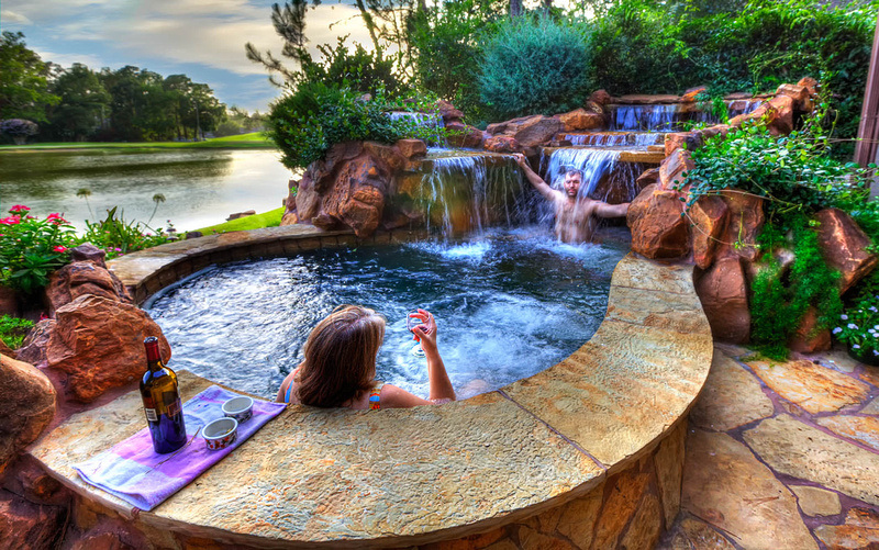 waterfall Backyard-Landscaping-Paradise-30-Spectacular-Natural-Pools-