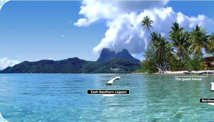 boat view  Buy-Your-Own-Island-in-Bora-Bora-French-Polynesia-Haapiti-Rahi-Motu