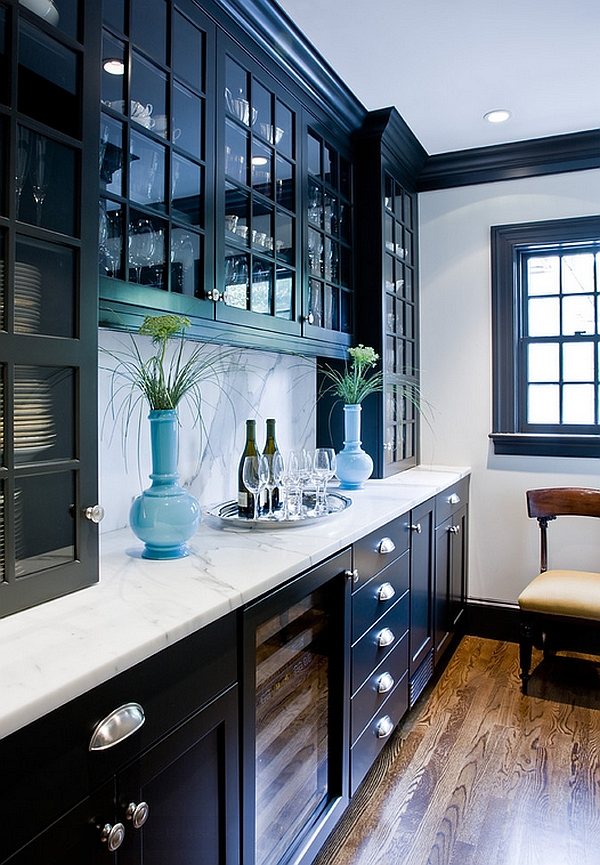 A Bold Presence and A Huge Focal Point Materialized Trough an Apothecary Cabinet Design
