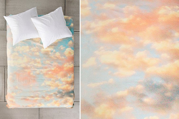 Cloud Print Duvet Cover