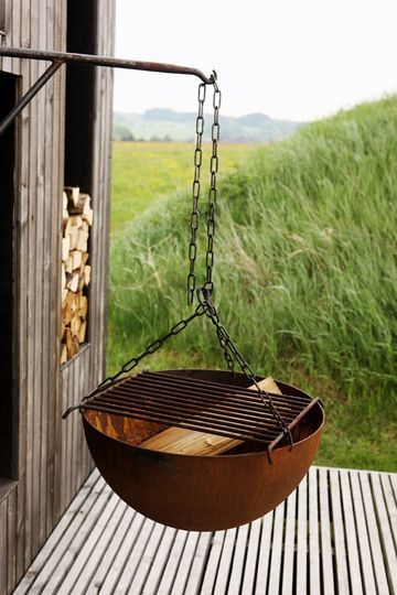 Hanging Fire Pit/Grill