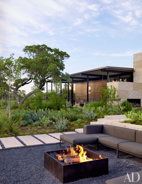 Backyard Landscaping Design IdeasFresh Modern and Rustic Fire Pit
