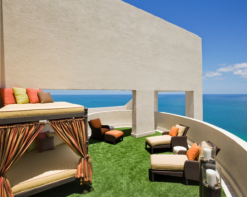 Sky Terrace With Canopy Daybed