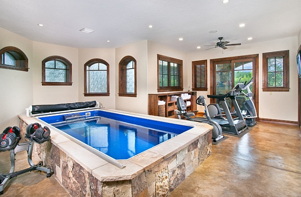 Indoor Lap Pool to Complete Your Workout Routine