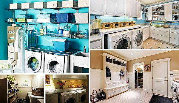 Stylish Laundry Room Design Ideas