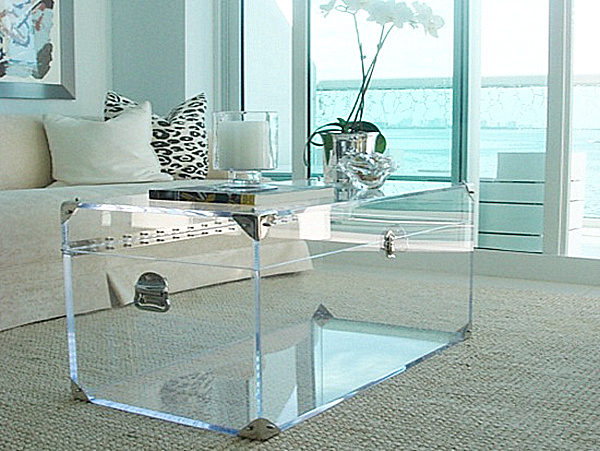 Acrylic Coffee Tables Showcase For Your Interior Design