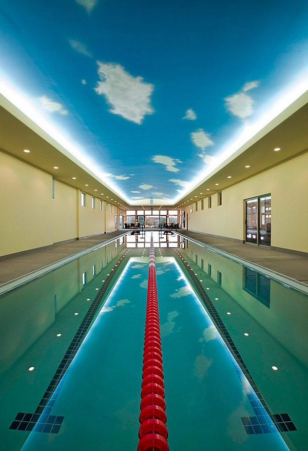 Olympic Size Swimming Pool For Professional Swimming Training at Home