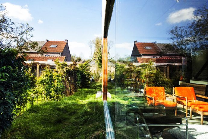 Open Plan Design Enhanced by Backyard Landscaping-House GePo by OYO