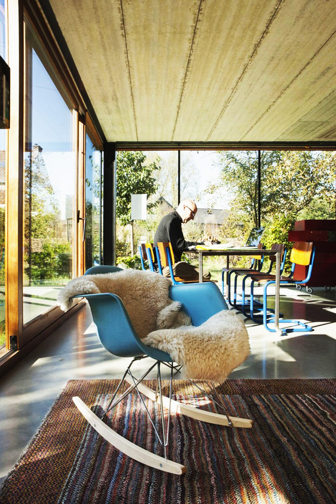 coziness and warmth Open Plan Design Enhanced by Backyard Landscaping-House GePo by OYO