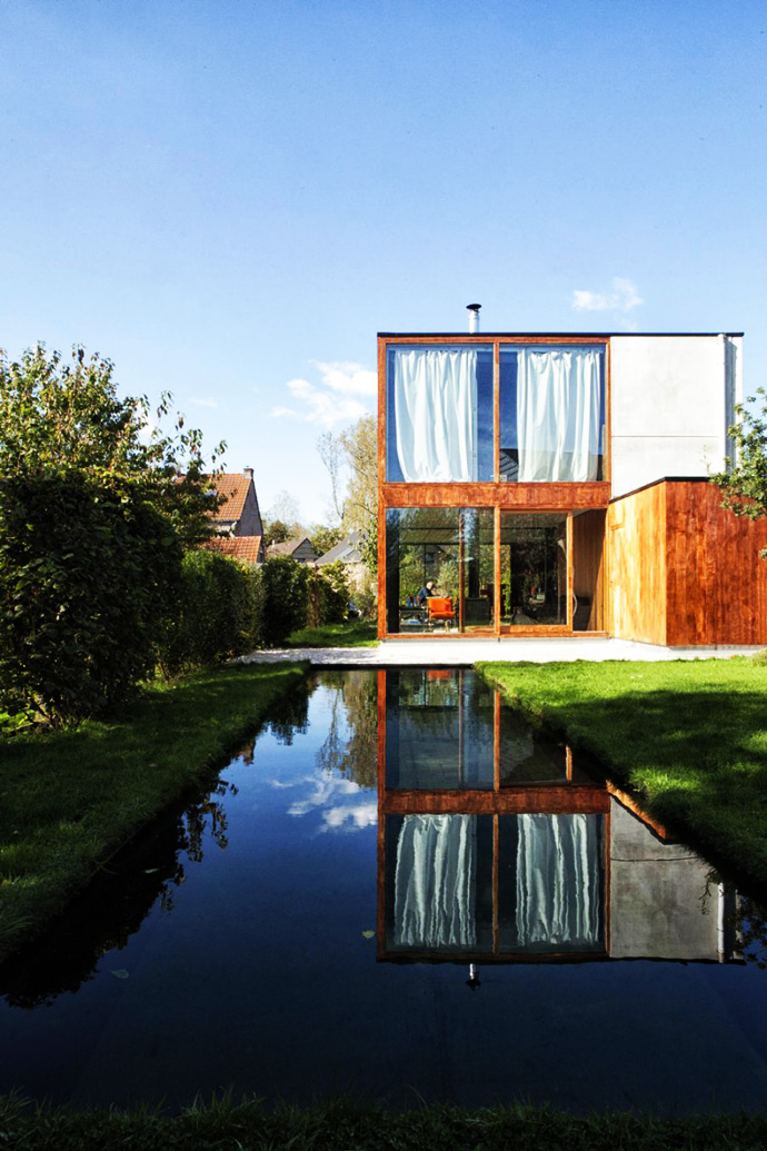 superb swimming pool Open Plan Design Enhanced by Backyard Landscaping-House GePo by OYO