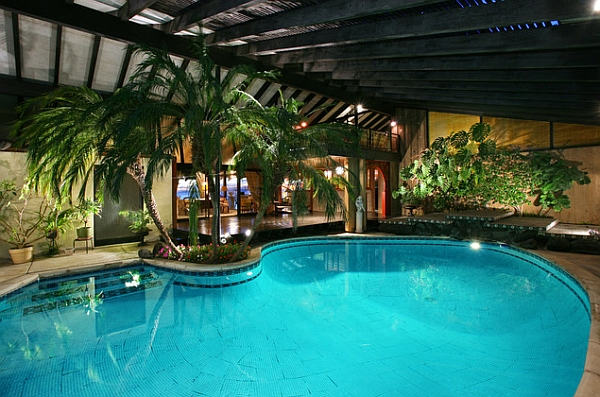 Pygmy-Date-Palms-at-the-edge-of-the-pool-usher-in-tropical-style