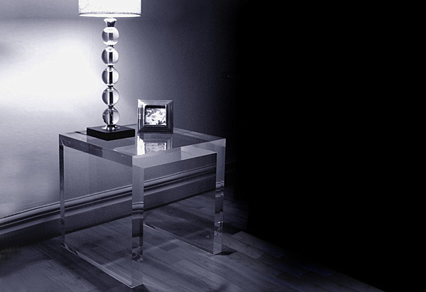 Square Acrylic Coffee Tables
