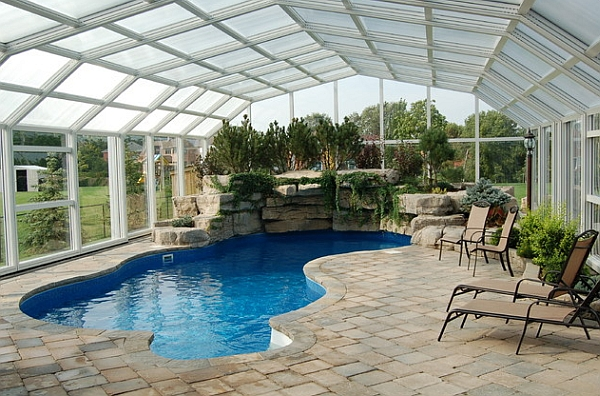Retractable Glass Roof The Best Compromise Between Indoor and Outdoor Swimming Pool
