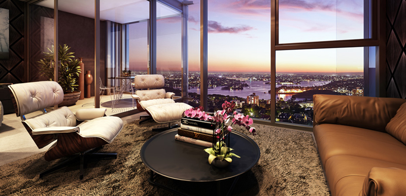 Living room proposal for Rewriting-City-Living-Luxury-Residential-Project-Envisioned-Crown-Group