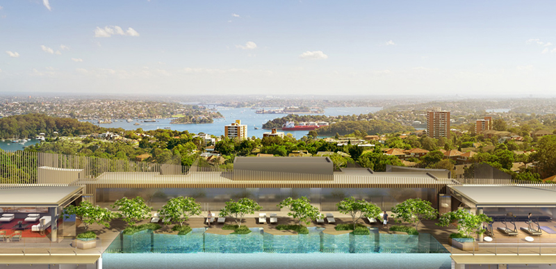 view from the top of Rewriting-City-Living-Luxury-Residential-Project-Envisioned-Crown-Group