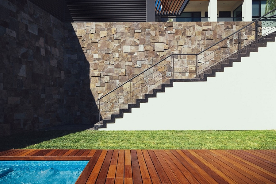 Staircase Leading to the Private Pool