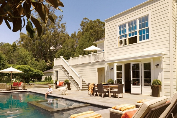 Superb Transition Between Pool Deck and Swimming Pool