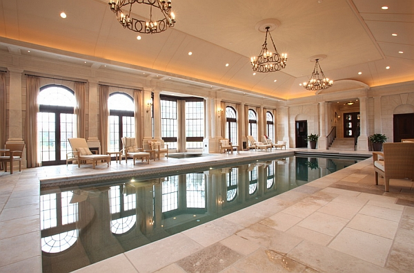 Indoor Swimming Pool with a more Classical Approach