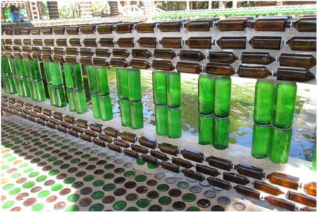 construction detail of Unique-Bottle-Recycling-Building-a-Thai-Temple-from-One-Million-Bottles-Homesthetics