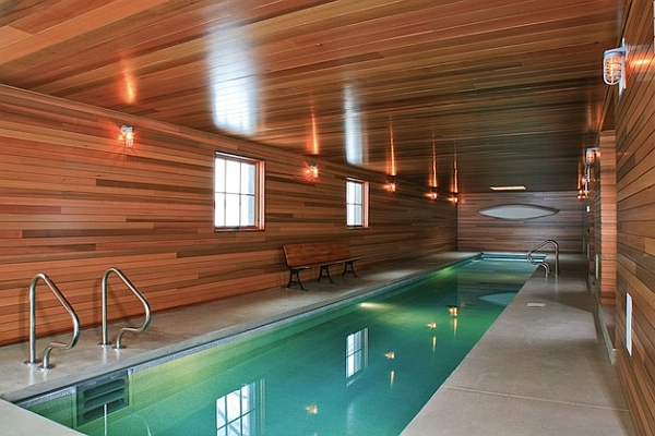 Wooden Walls Offering Warmth and Coziness