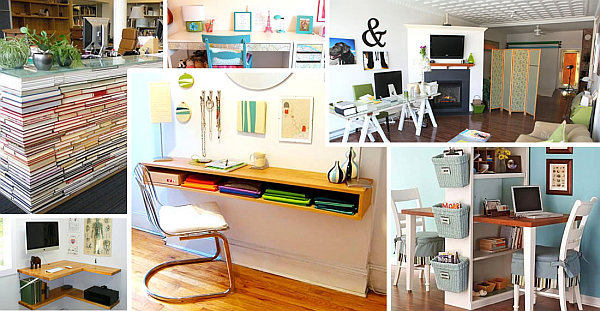 Elegant Collage Of DIY Desks Inspirational Ideas