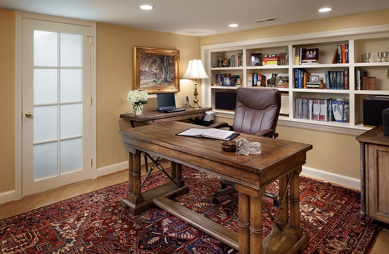 Small Home Office Decorating Ideas Part - 39: Home Office Small Office Home Office. Small Basement Home Office Decorating  Idea