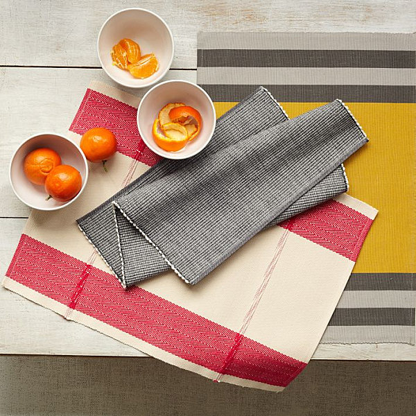 Woven Place-mats from West Elm
