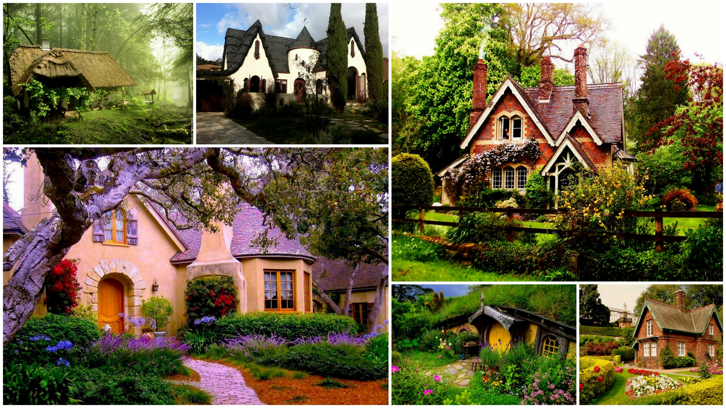 15 Dream Cottages for Inspired From Fairytales