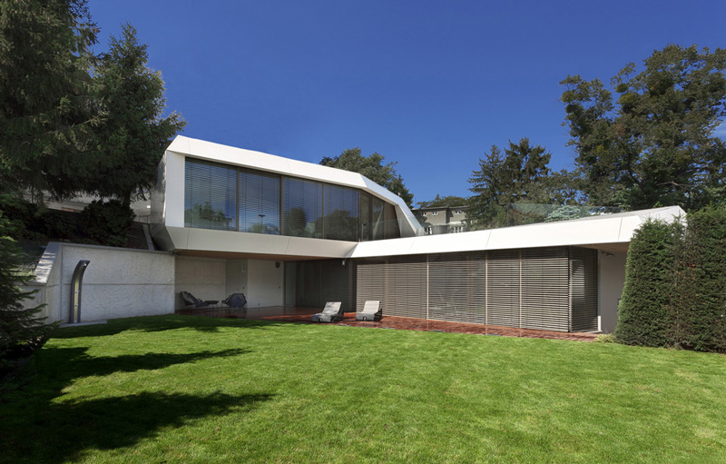 Home Spa Extension- Relaxing and Rejuvenating Attractor by architekti.sk