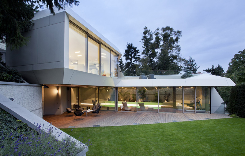 futuristic home extension with relaxing and rejuvenating purpose