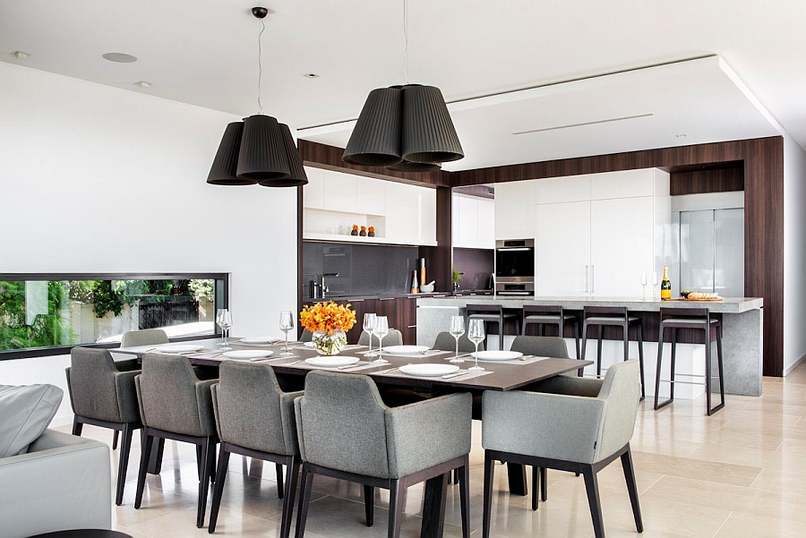 Neutral Design in the Dinning Area