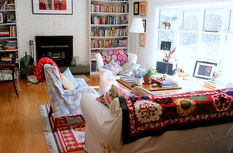 Bohemian Style Offering Coziness and Warmth in Both Summer and Winter