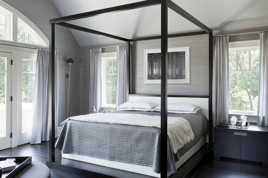Exquisite Bedroom in Neutral Colors Offering a Stylish and Serene Retreat