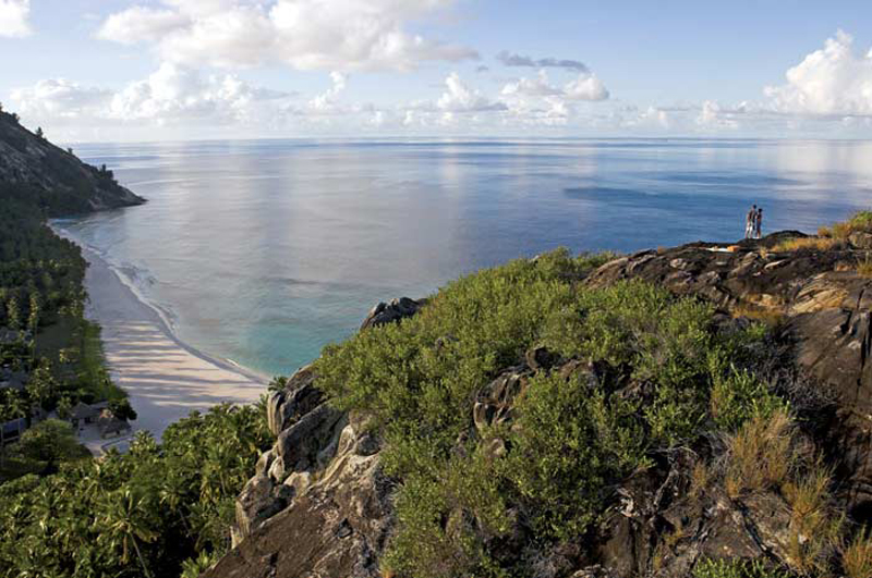 expansive views offered by he North-Island-Villa-Seychelles