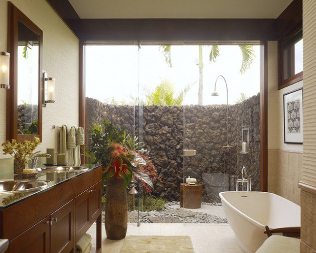 Hawaii Residence Bathroom Design Extended