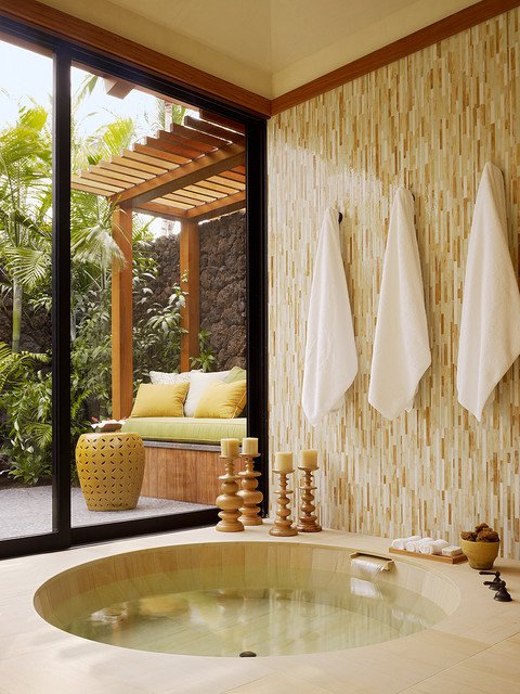 15 Tropical Bathroom Designs Enhancing Summer With